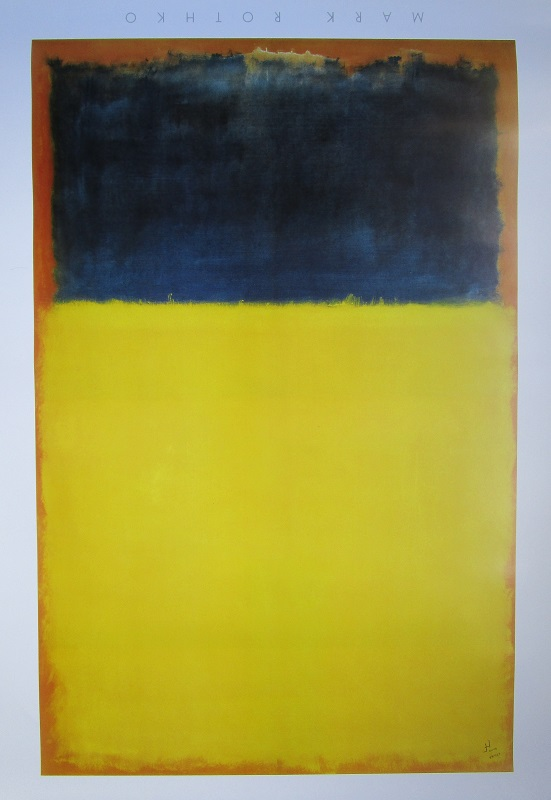 Id (Das Es) - Blue and Yellow (after Rothko's Yellow and Blue), 2014